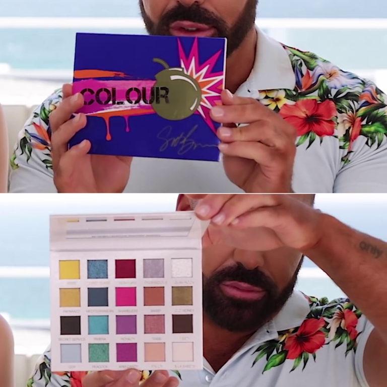 Scott Barnes Colour Eyeshadow Palette