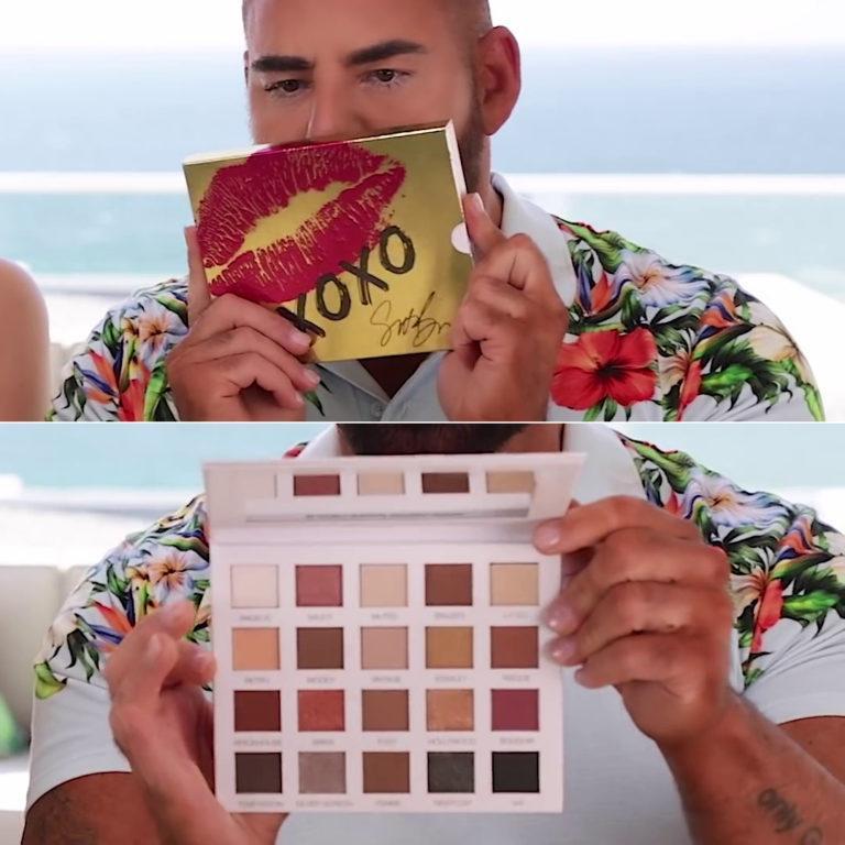 Scott Barnes XOXO Eyeshadow Palette
