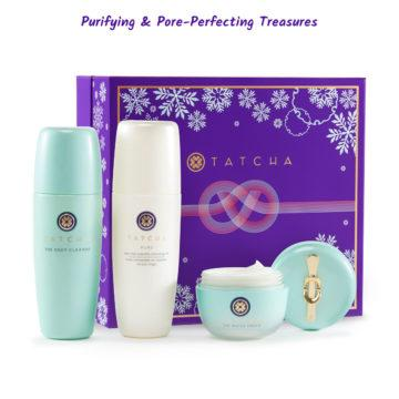 Tatcha Holidays Sets Collection Purifying & Pore Perfecting Treasures