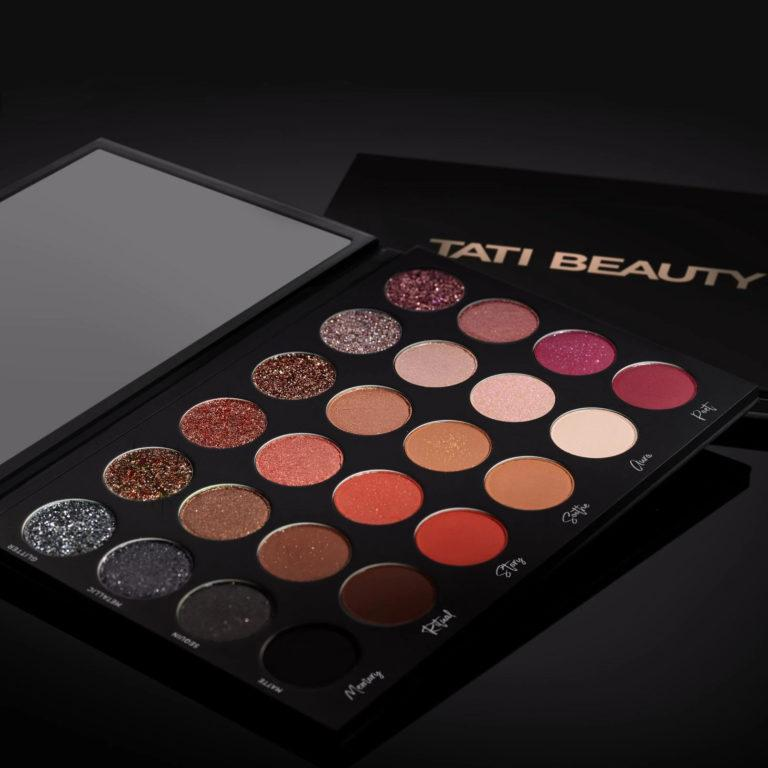 Tati Beauty Textured Neutrals Vol. 1 Eyeshadow Palette Alt