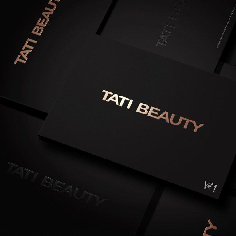 Tati Beauty Textured Neutrals Vol. 1 Eyeshadow Palette Case