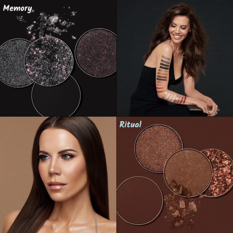 Tati Beauty Textured Neutrals Vol. 1 Eyeshadow Palette Memory Ritual Crash Swatches