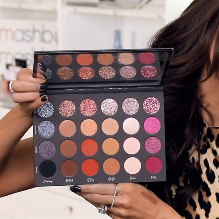 Tati Beauty Textured Neutrals Vol. 1 Eyeshadow Palette Open