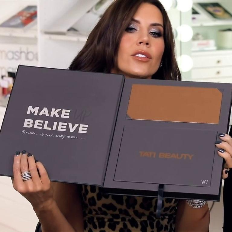 Tati Beauty Textured Neutrals Vol. 1 Eyeshadow Palette PR Box Open