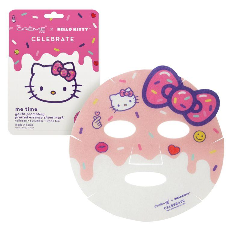 The Crème Shop x Hello Kitty Me Time! Youth Promoting Sheet Mask Front