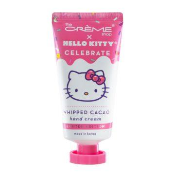 The Crème Shop x Hello Kitty Whipped Cacao Hand Cream with Shea Butter & Vitamin E Intensely Hydrating & Repairing