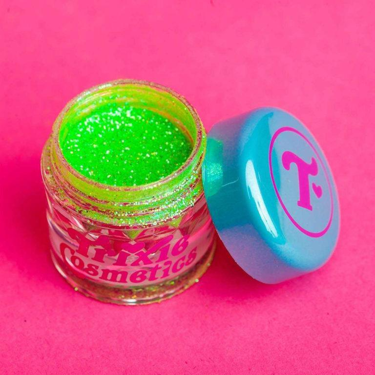 Trixie Cosmetics HALLOWEEN Collection Slime Time open
