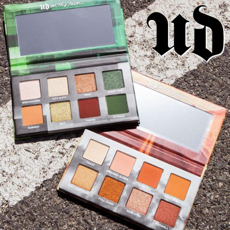 Urban Decay On the Run Mini G Train & Highway Queen Palettes