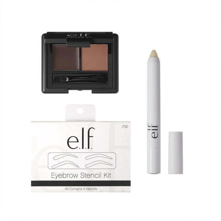 e.l.f. Holiday 2019 Gift Sets 3 Piece Eyebrow Kit Open