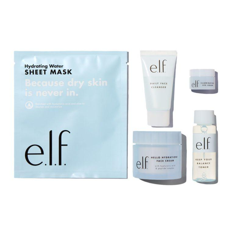 e.l.f. Holiday 2019 Gift Sets Best of e.l.f. Skin Care Set Open