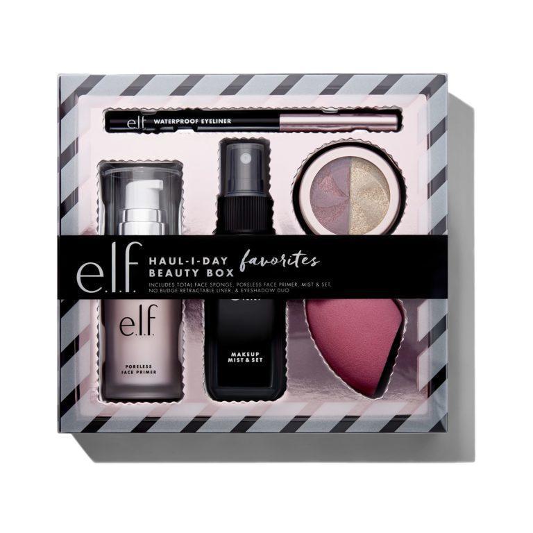 e.l.f. Holiday 2019 Gift Sets HAUL I DAY Favorites Beauty Box