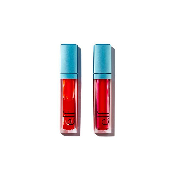 e.l.f. Holiday 2019 Gift Sets Lip Stain Duo Open