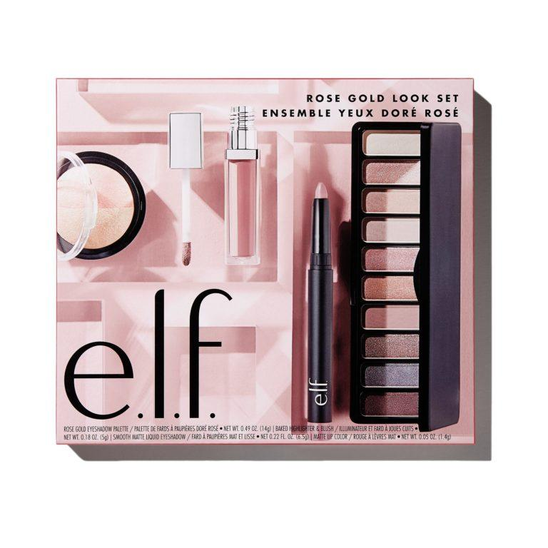 e.l.f. Holiday 2019 Gift Sets Rose Gold Look Set