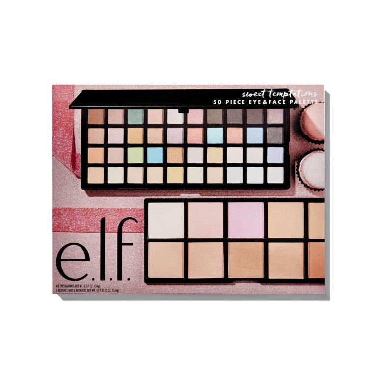 e.l.f. Holiday 2019 Gift Sets Sweet Temptations 50 Piece Eye & Face Palette