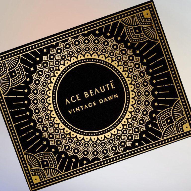 Ace Beaute Vintage Dawn Eyeshadow Palette Closed