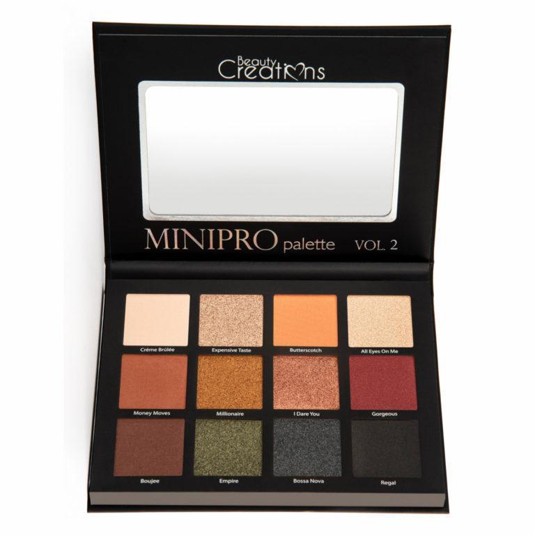 Beauty Creations Mini Pro Palette Volume 2