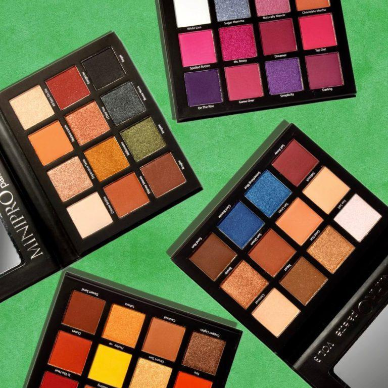 Beauty Creations Mini Pro Palettes Collection