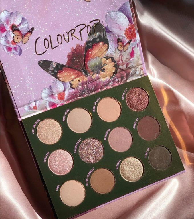 Colourpop Butterfly Collection Flutter By Palette