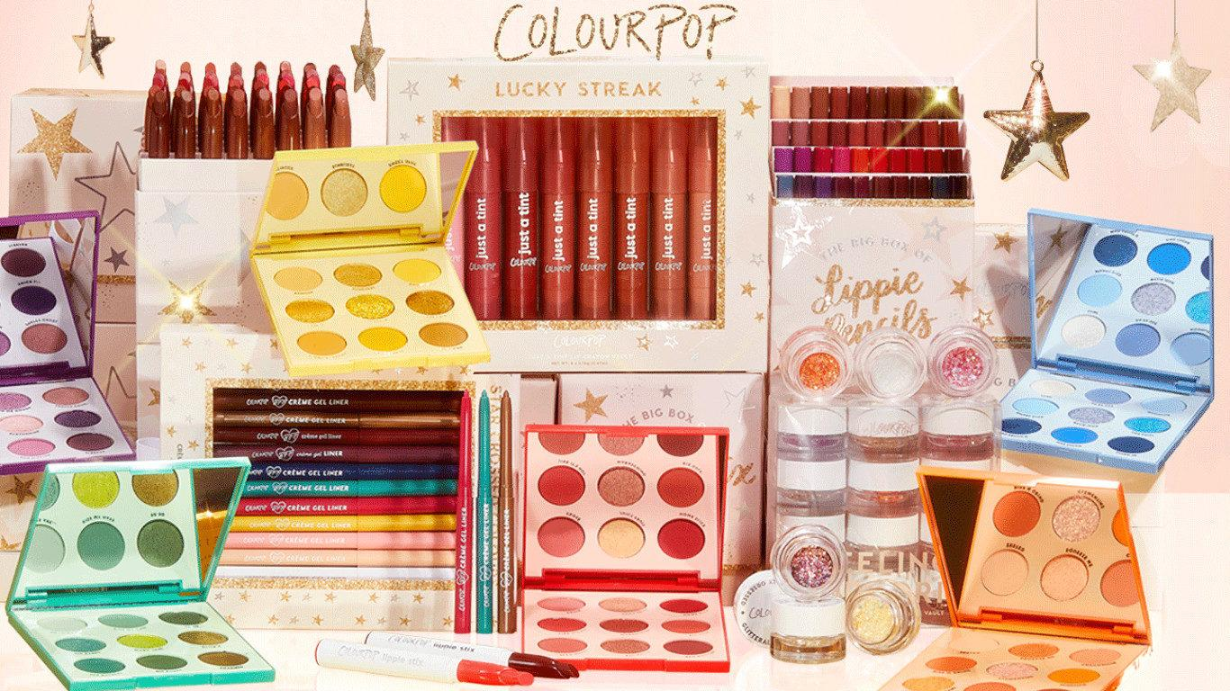 Colourpop Holidays Sets Blog Header