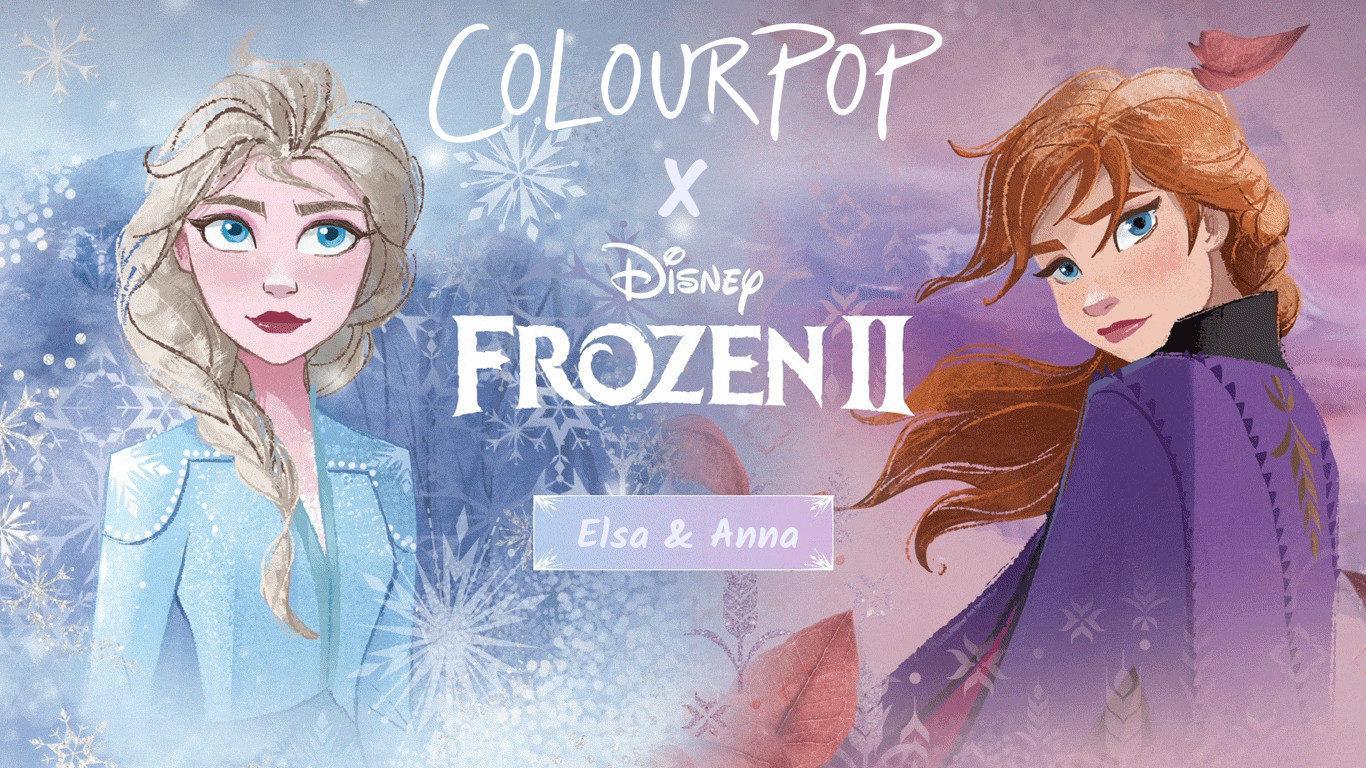 Colourpop x Disney Frozen II Collection Cover