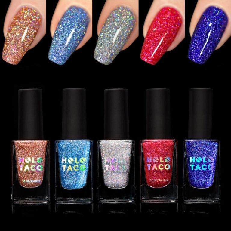 Holo Taco Holoday Collection Nails & Products