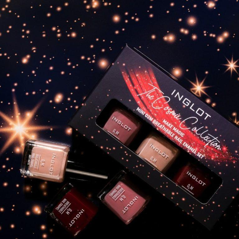 Inglot The Cosmic Collection Mini O2M Breathable Nail Enamel Set