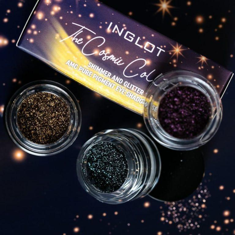 Inglot The Cosmic Collection Shimmer Glitter Pure Pigment