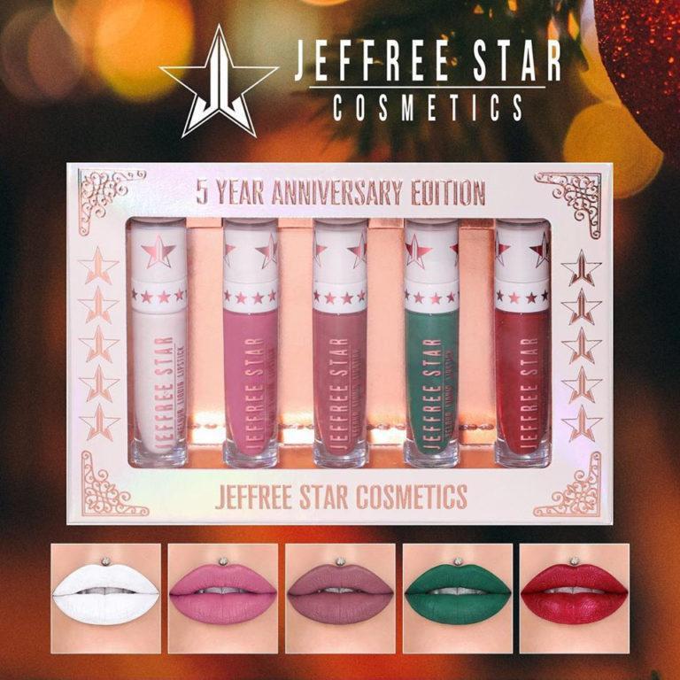 Jeffree Star Cosmetics Black Friday Liquid Lipsticks 5th Anniversary