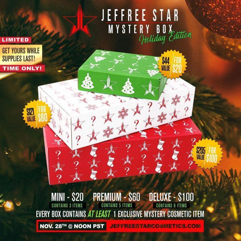 Jeffree Star Cosmetics Black Friday Mystery Boxes