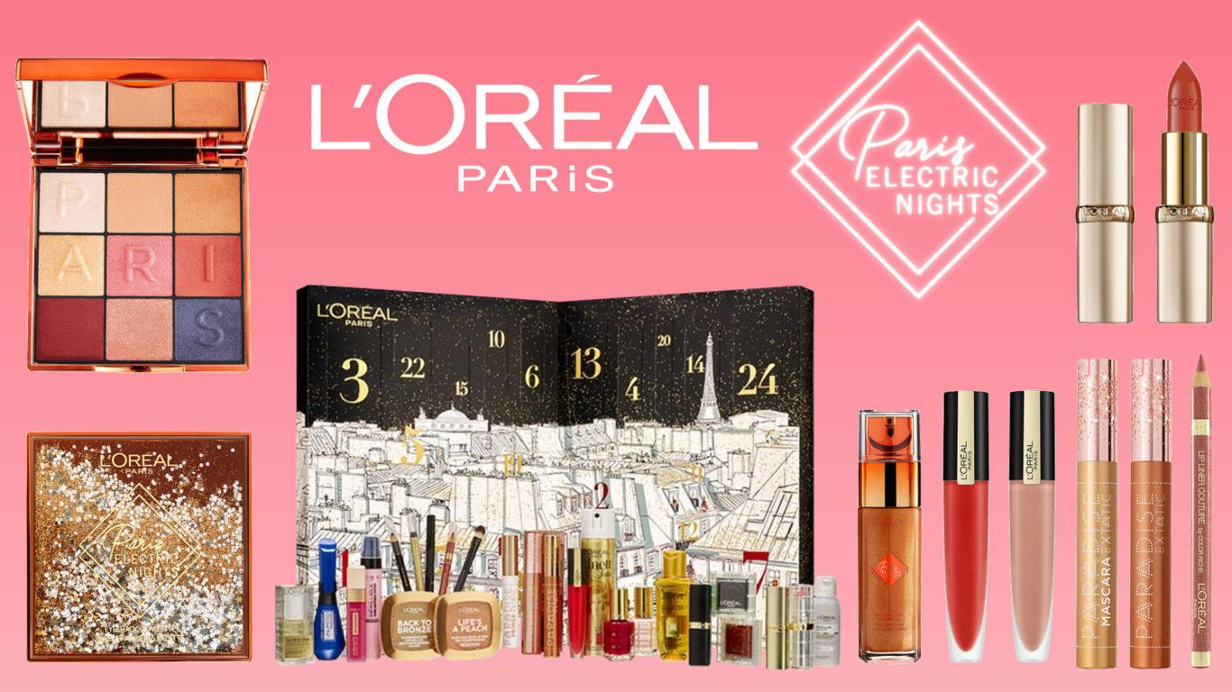 L'Oréal Paris Electric Nights Collection Blog Header