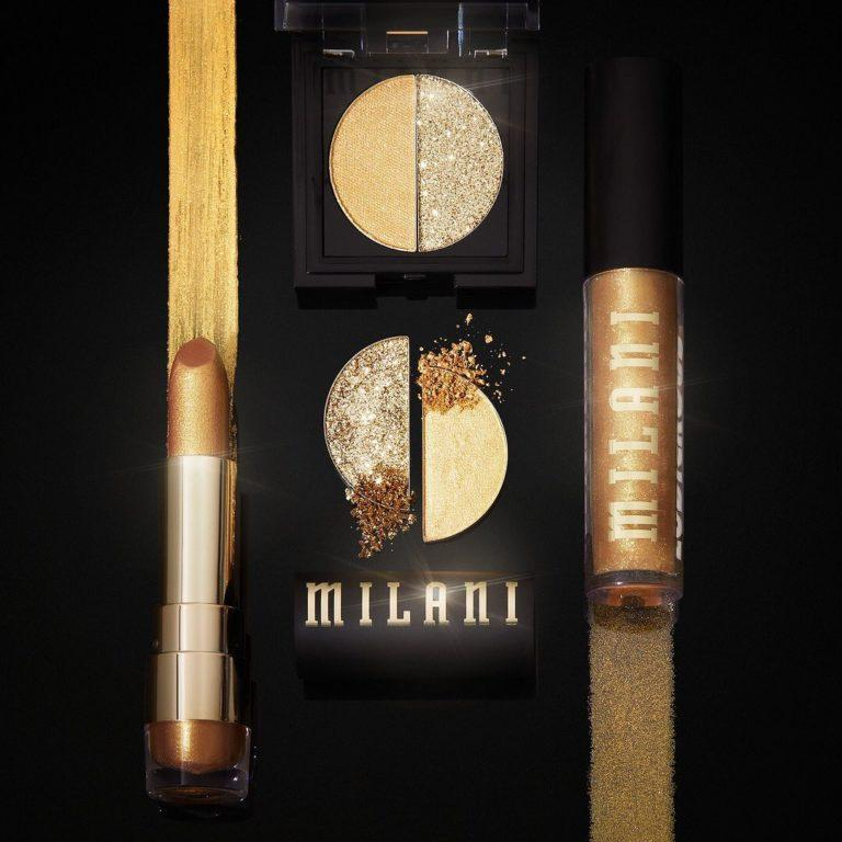 Milani 24 Karat Gold Collection Set 24 Karat Gold Abierto