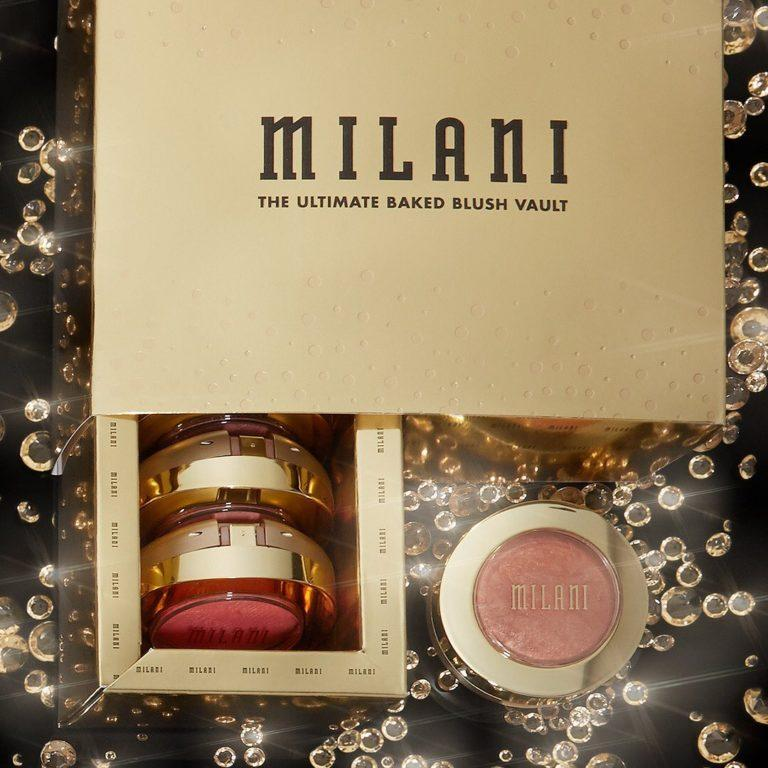 Milani 24 Karat Gold Collection The Ultimate Baked Blush Vault