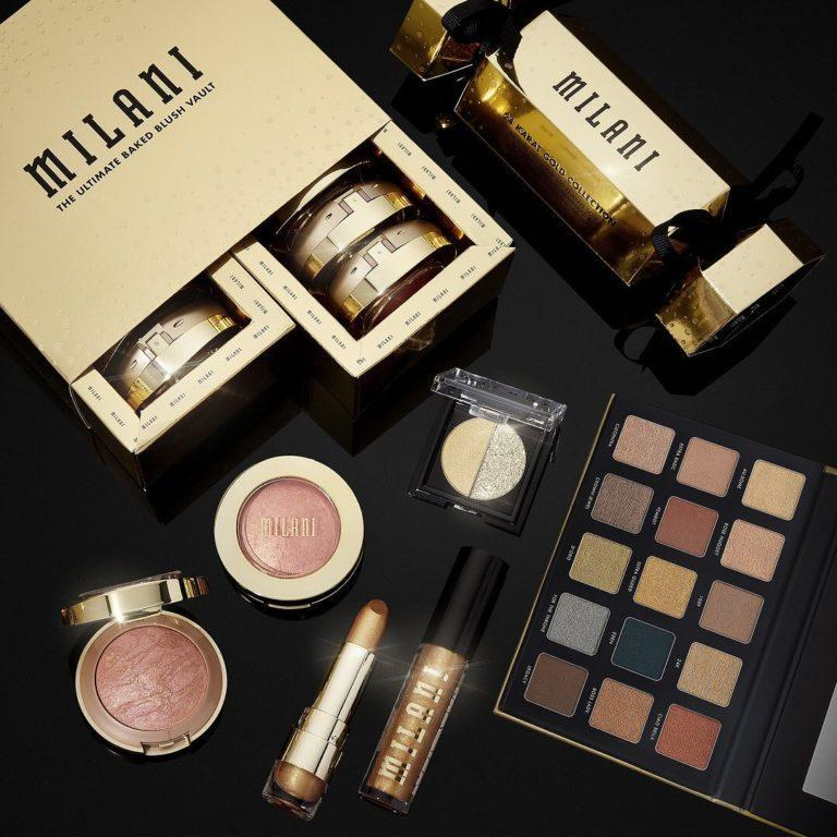 Milani Cosmetics 24 Karat Gold Collection