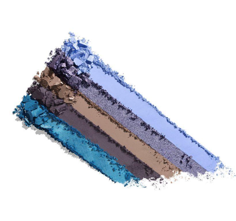 Morphe 18A Blue Ya Away Artistry Palette Crash Swatches