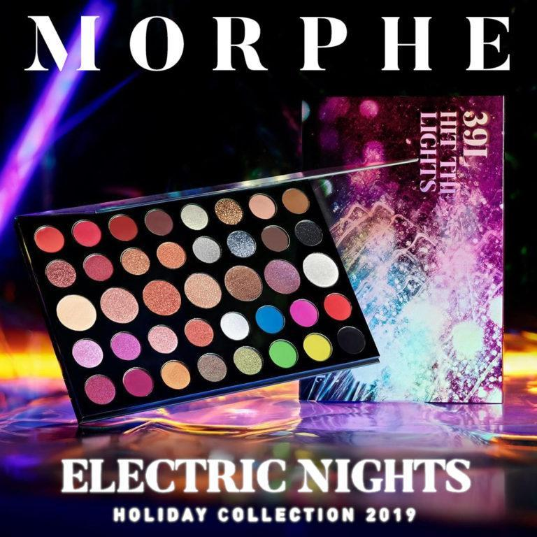 Morphe Electric Nights Collection Portada