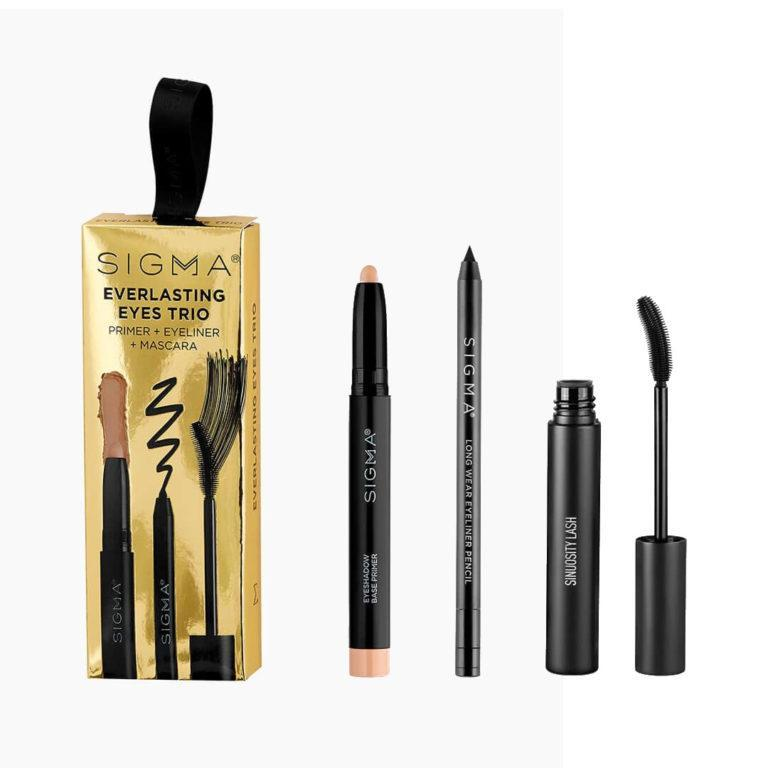 Sigma Beauty Holiday Gift Sets Everlasting Eyes Trio