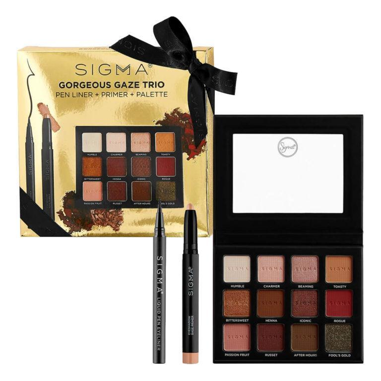 Sigma Beauty Holiday Gift Sets Gorgeous Gaze Trio