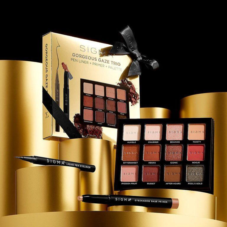Sigma Beauty Holiday Gift Sets Gorgeous Gaze Trio Alt