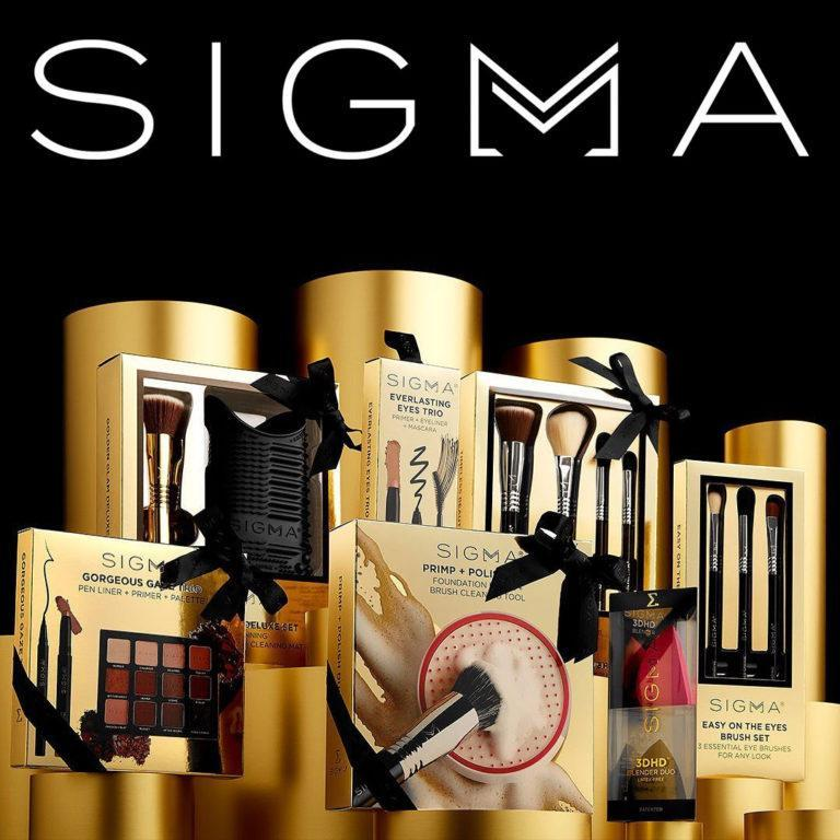 Sigma Beauty Holiday Gift Sets Post Cover