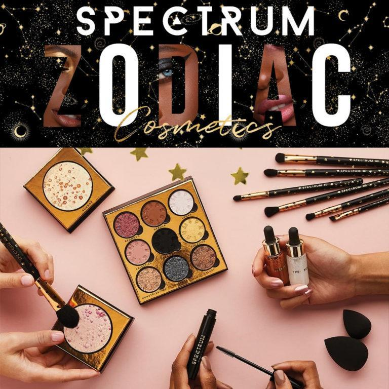 Spectrum Zodiac Cosmetics Collection Post Cover