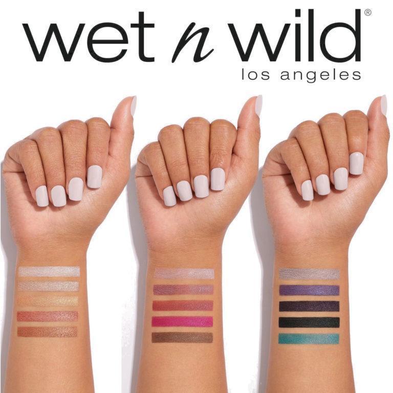 Wet n Wild Metallic Palette Swatches
