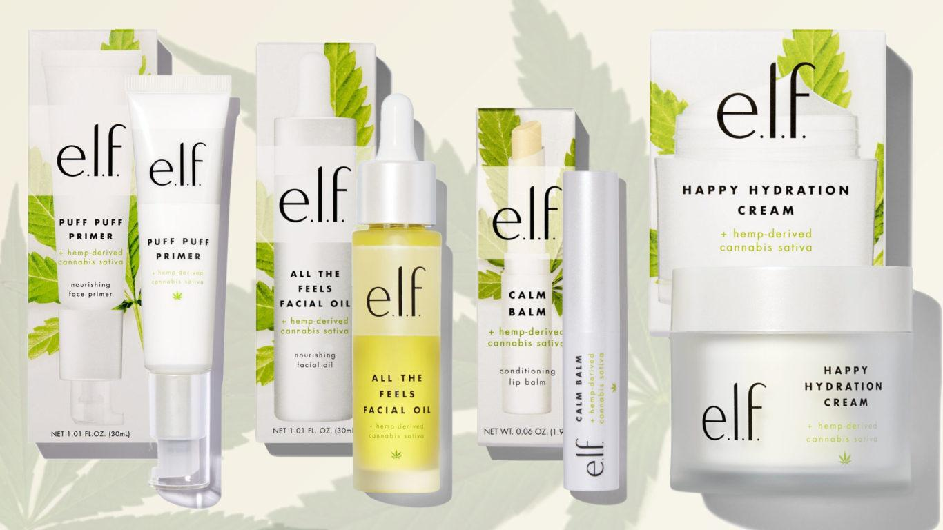 e.l.f. Cannabis Sativa Collection Blog Header