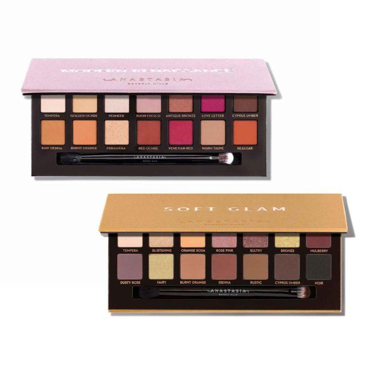 Anastasia Beverly Hills Holiday Collection Eyeshadow Palette Collection Open