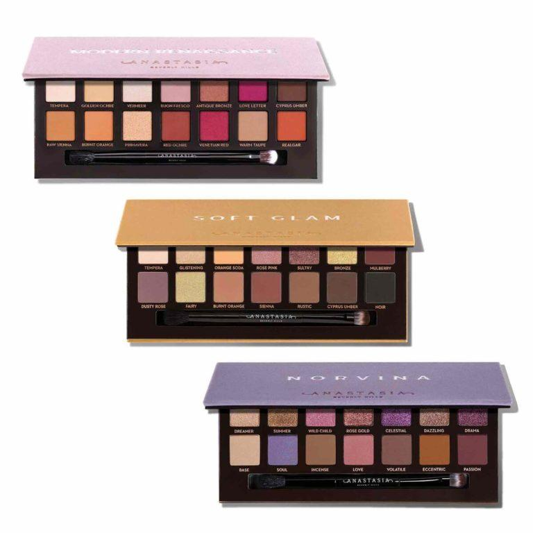 Anastasia Beverly Hills Holiday Collection Eyeshadow Palette Rose Gold Collection Open