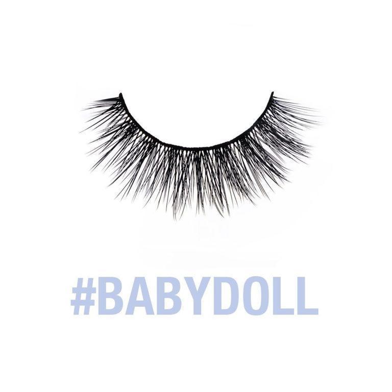Baddie B Lashes Synthetic Line Babydoll