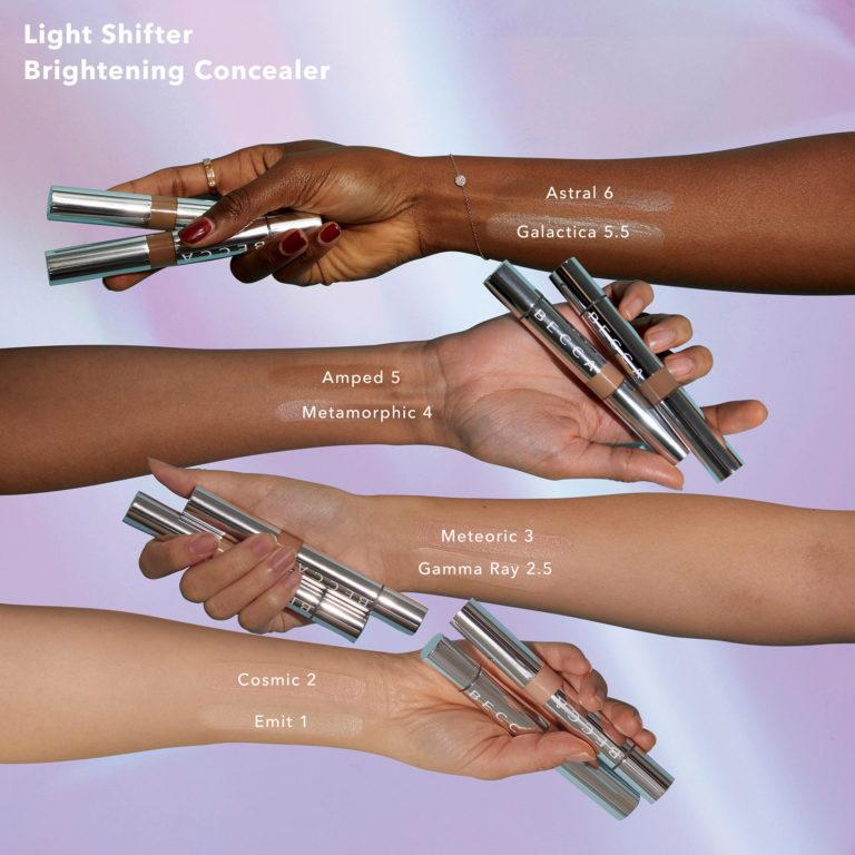 Becca Cosmetics Light Shifter Brightening Concealer Arm Swatches