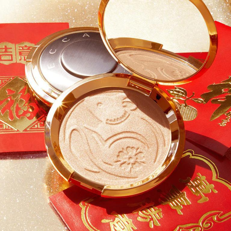 Becca Cosmetics Year Of The Rat Shimmering Skin Perfector™ Pressed Highlighter in Moonstone Post Cover