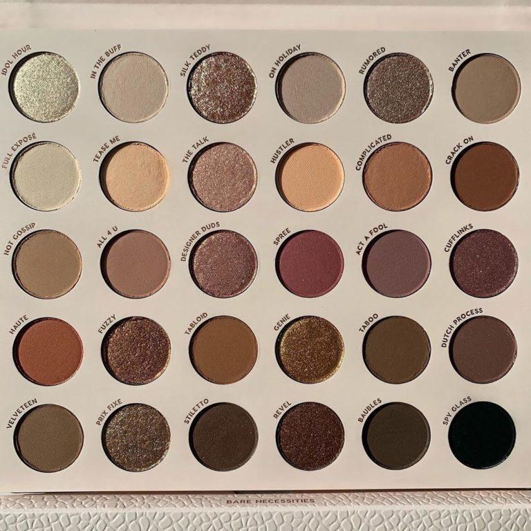 Colourpop Cosmetics Bare Necessities Eyeshadow Palette Front