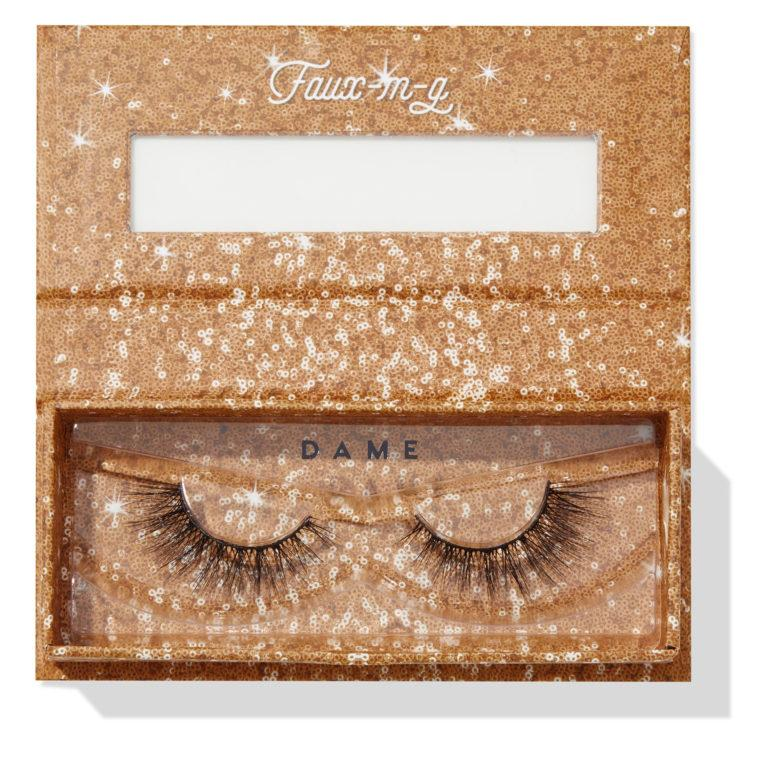 Colourpop Cosmetics Solid Gold Collection Falsies Faux Lashes Dame Open