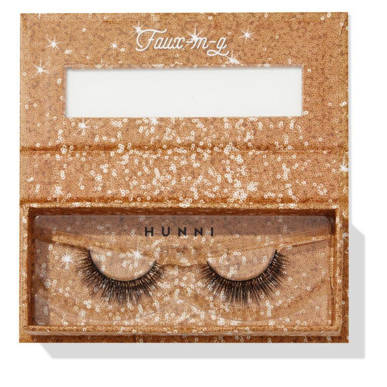 Colourpop Cosmetics Solid Gold Collection Falsies Faux Lashes Hunni Open